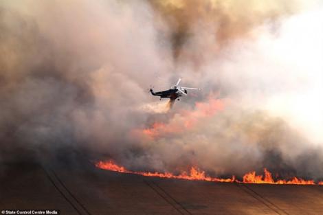 Cháy rừng tại Úc khiến 30.000 du khách mắc kẹt ở vùng du lịch thuộc bang Victoria