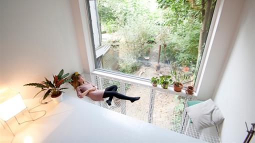 Sàn võng, phong cách nội thất lạ cho ngôi nhà đầy phá cách
