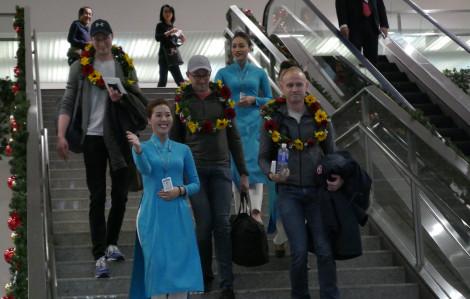 TPHCM đón đoàn khách quốc tế đầu tiên trong ngày đầu năm mới 2020