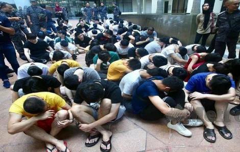 Malaysia bắt 87 nghi phạm lừa đảo Trung Quốc
