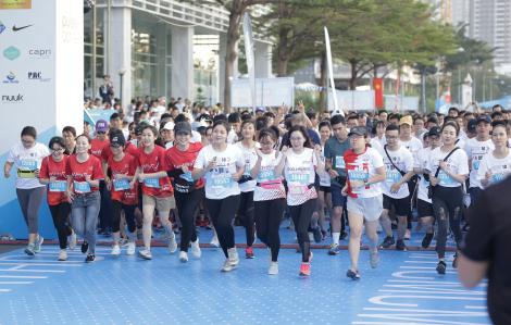 9.000 người chạy marathon để gắn kết cộng đồng
