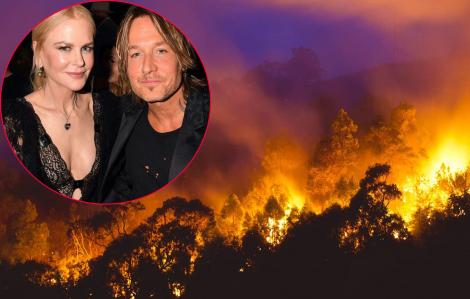 Vợ chồng Nicole Kidman đóng góp hơn 11 tỷ đồng hỗ trợ thảm họa cháy rừng tại Úc