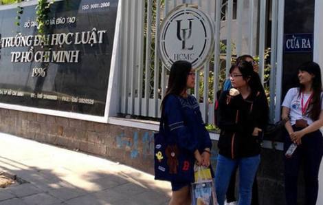 Trường đại học Luật TP.HCM bỏ thi đánh giá năng lực