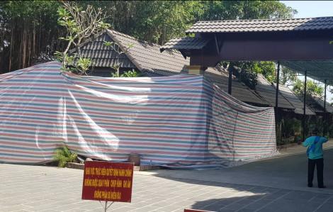 Chính thức phong tỏa, cưỡng chế Resort Tràm Chim
