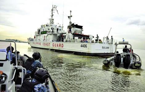 Philippines dùng lực lượng bảo vệ bờ biển giữ thế cân bằng ở Biển Đông