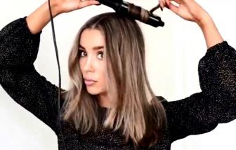 Clip: Hướng dẫn cách làm tóc xoăn lọn đơn giản nhất