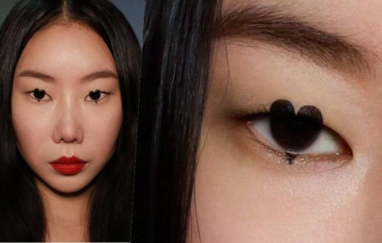 Clip: Nghệ thuật trang điểm hiệu ứng 3D độc đáo của cô gái Hàn Quốc