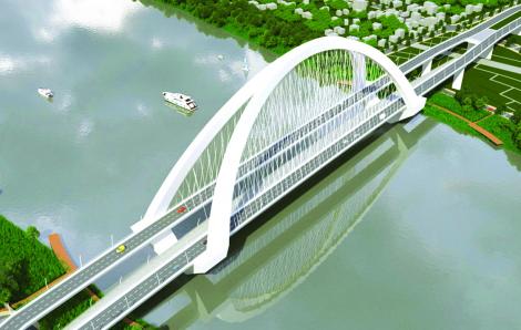 Chưa chọn được phương án thiết kế cầu vượt sông Hương