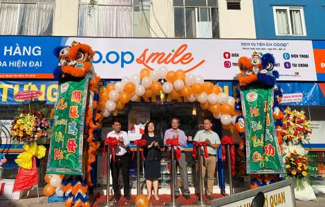Sinh viên được thực tập tại mô hình Co.op Smile '2 trong 1'