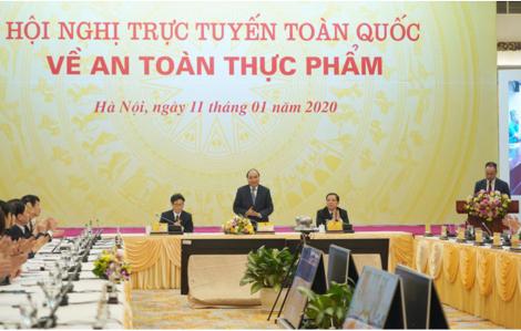 Thủ tướng Nguyễn Xuân Phúc: 'Pháp luật an toàn thực phẩm chưa đủ nghiêm thì tiếp tục trình Quốc hội sửa đổi'
