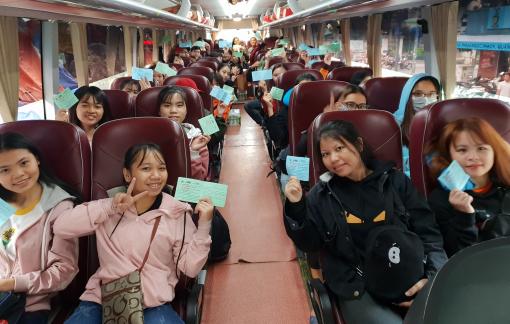 TP.HCM: Hỗ trợ sinh viên khó khăn có việc làm và vé xe về quê đón tết
