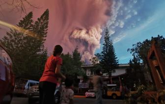 Philippines lo ngại thảm họa núi lửa Taal