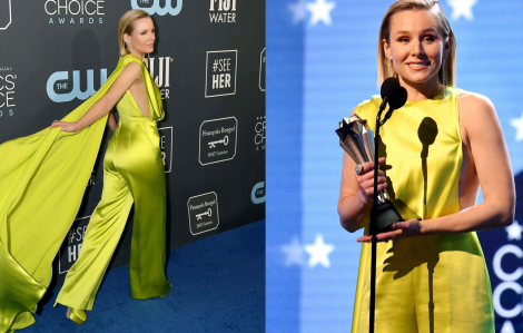 Trang phục của Công Trí giúp nữ diễn viên 1m55 cao như người mẫu 1,7m