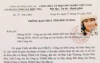 Cơ quan CSĐT phát văn bản truy tìm 4 lãnh đạo dự án Hưng Thịnh Cát Tường vì bán dự án 'ma'