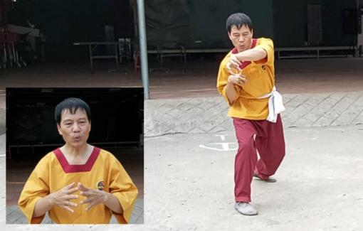 Võ sư hướng dẫn cách tập thể dục với bài quyền Võ Chuột để tăng sức khỏe