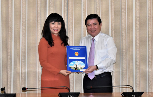 Bà Phạm Thị Hồng Hà làm Giám đốc Sở Tài chính TPHCM
