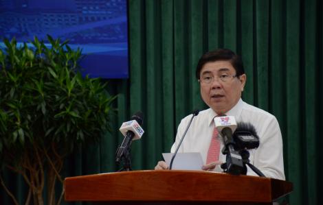 Chủ tịch UBND TPHCM: 'Chủ trương đúng hay không là do hợp lòng dân hay không'