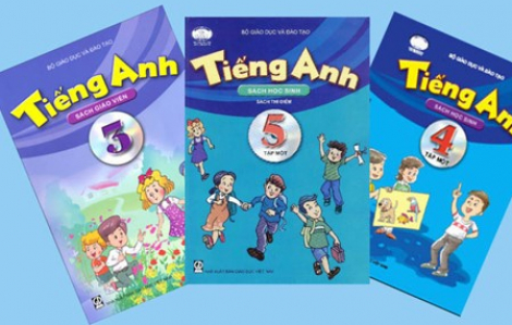 6 sách giáo khoa tiếng Anh lớp Một vừa được phê duyệt
