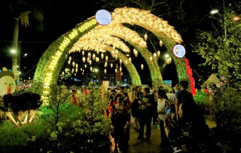 Khai mạc Hội hoa xuân Phú Mỹ Hưng tết Canh Tý 2020