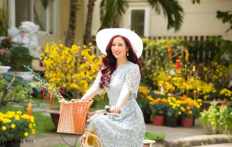 Người đẹp Thu Hương tiết lộ về chuyến xe du xuân thắt chặt tình thân