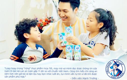Sao Việt chia sẻ bí kíp chăm sóc dinh dưỡng ngày tết cho con