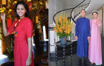 Sao Việt xúng xính áo quần ngày đầu năm mới