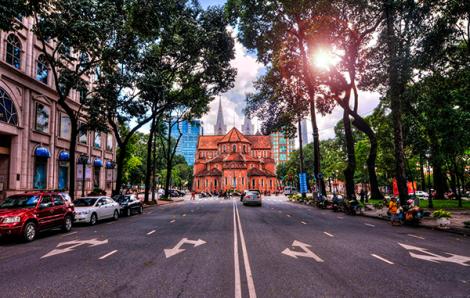 Một Sài Gòn yêu kiều trong ngày tết