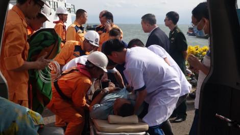 Cứu nạn thuyền viên người Thái Lan gặp nạn trên biển