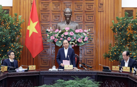 Thủ tướng họp khẩn về phòng chống dịch bệnh do virus corona gây ra