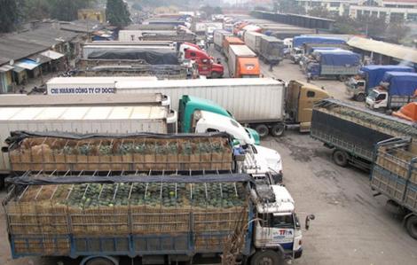Hàng hóa xuất khẩu đi Trung Quốc gặp khó vì corona