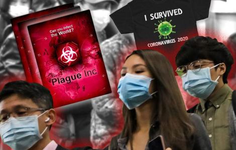 Trang phục 'ăn theo' virus corona bị chỉ trích phi đạo đức