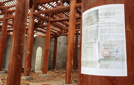 Vụ 'chùa triệu đô' xây lấn di tích quốc gia: cảnh cáo, khiển trách 4 cán bộ xã