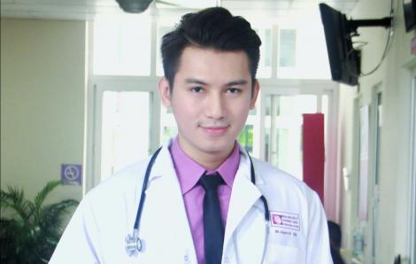 Bác sĩ - Á vương Huỳnh Võ Tiến: 'Đẹp quá cũng khổ'