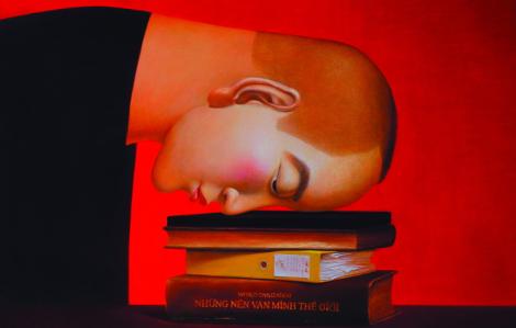 Họa sĩ Nguyễn Khắc Chinh: Lột những lớp mặt nạ trong thế giới ma-nơ-canh