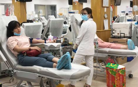 'Kho cung ứng máu' cho toàn TPHCM bị sụt giảm nghiêm trọng