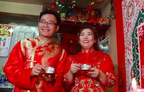 Độc đáo lễ cưới của người Việt gốc Hoa