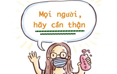 Bộ tranh ngộ nghĩnh về dịch viêm phổi corona mách bạn cách phòng bệnh