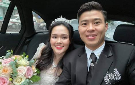 Không còn bị chê, vợ Duy Mạnh khoe nhan sắc trong veo trong lễ cưới