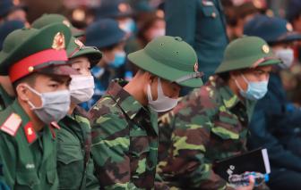 Tân binh nhập ngũ trong thời điểm dịch bệnh có gì khác?