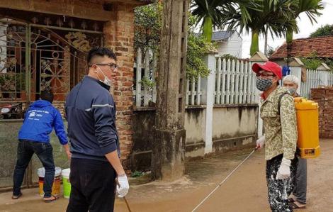 Vĩnh Phúc cách ly toàn xã Sơn Lôi, cung ứng thực phẩm tại chỗ cho người dân
