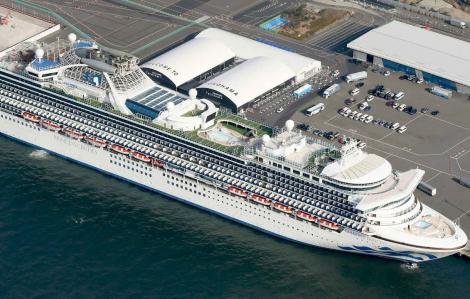 218 ca nhiễm Covid-19 trên tàu Diamond Princess tại Yokohama, tàu Westerdam cập bến Campuchia