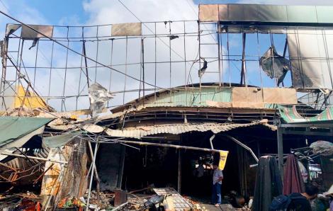 Kiên Giang: Chợ cháy giữa đêm khuya