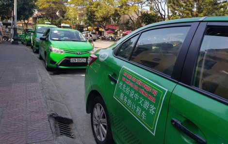 Hội An sẽ có đội xe taxi vận chuyển khách du lịch nói tiếng Hoa