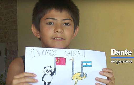 Clip: Trẻ em Mỹ La Tinh ủng hộ tinh thần Trung Quốc giữa đại dịch Covid-19