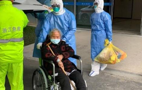 Bệnh nhân Covid-19 cao tuổi nhất Trung Quốc xuất viện chỉ sau 3 ngày điều trị