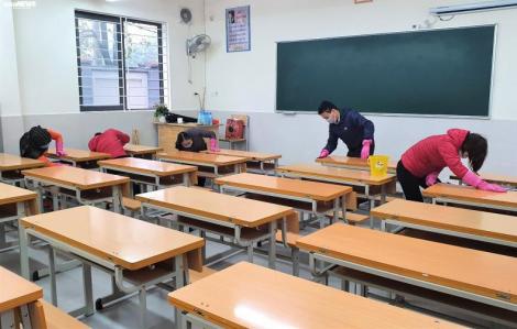 Bộ GD-ĐT đề nghị cho học sinh, sinh viên cả nước nghỉ học đến hết tháng 2