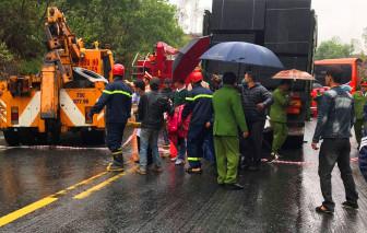 Tai nạn liên hoàn trên đường tránh Huế, 6 người bị thương nặng, 1 tử vong tại chỗ