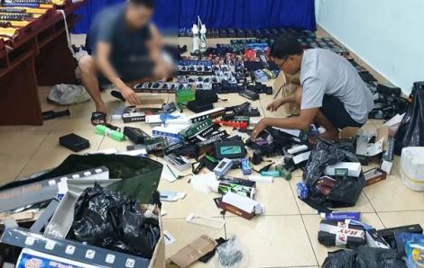 TPHCM siết quản lý vũ khí, cảnh báo tình trạng mua bán vũ khí qua mạng