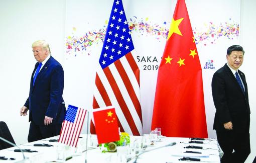 Dịch COVID-19 khiến quan hệ Mỹ - Trung không mấy suôn sẻ