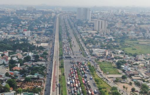 Tuyến metro Bến Thành - Suối Tiên dự kiến chạy thử từ đầu tháng 7
